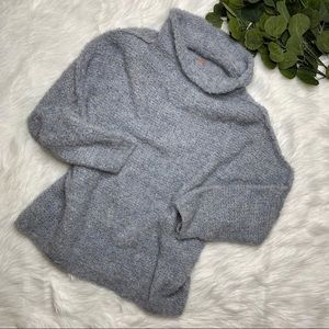 FREE PEOPLE ALPACA KNIT TURTLENECK SWEATER